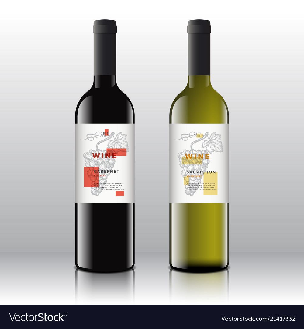Contemporary Wine Labels