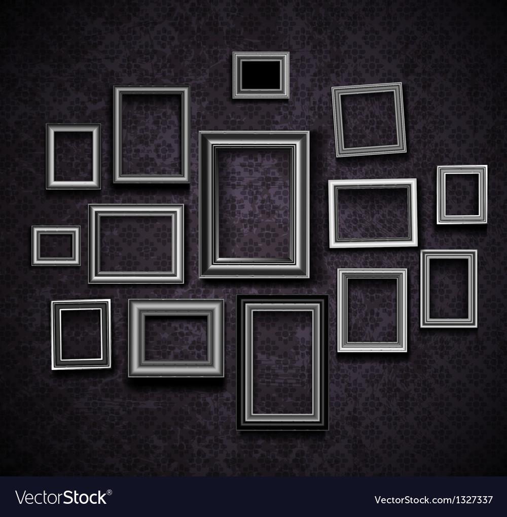 Photo picture frames vintage