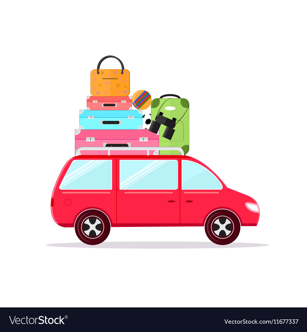 Travel Car Tourism and Vacation Together