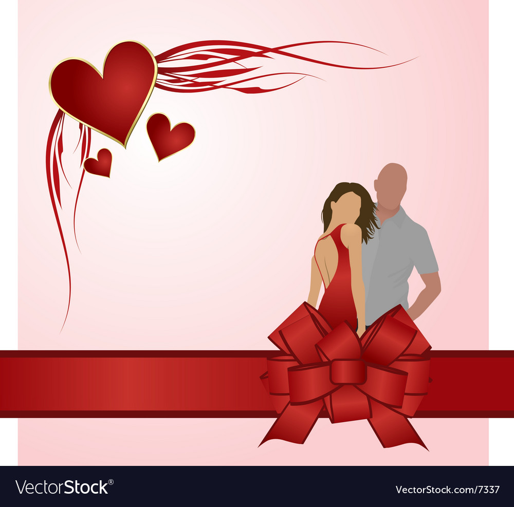 Valentines Day Couple Royalty Free Vector Image