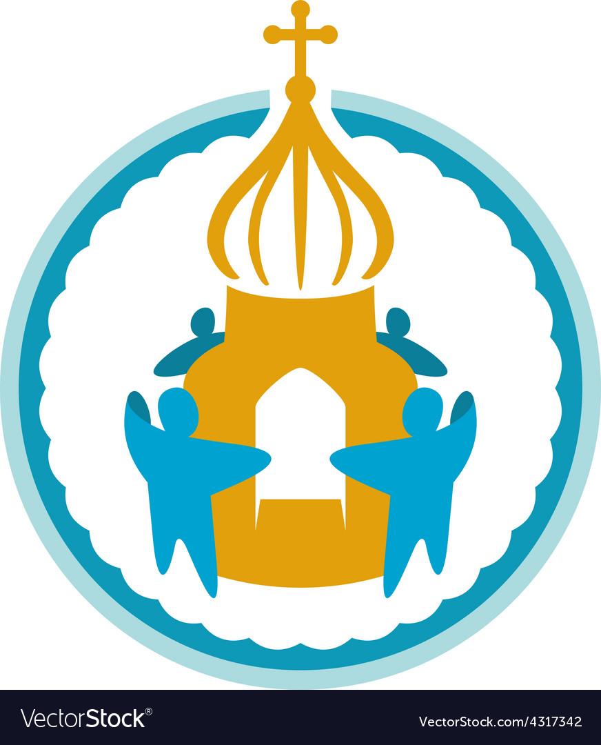 Church fundraising logo template