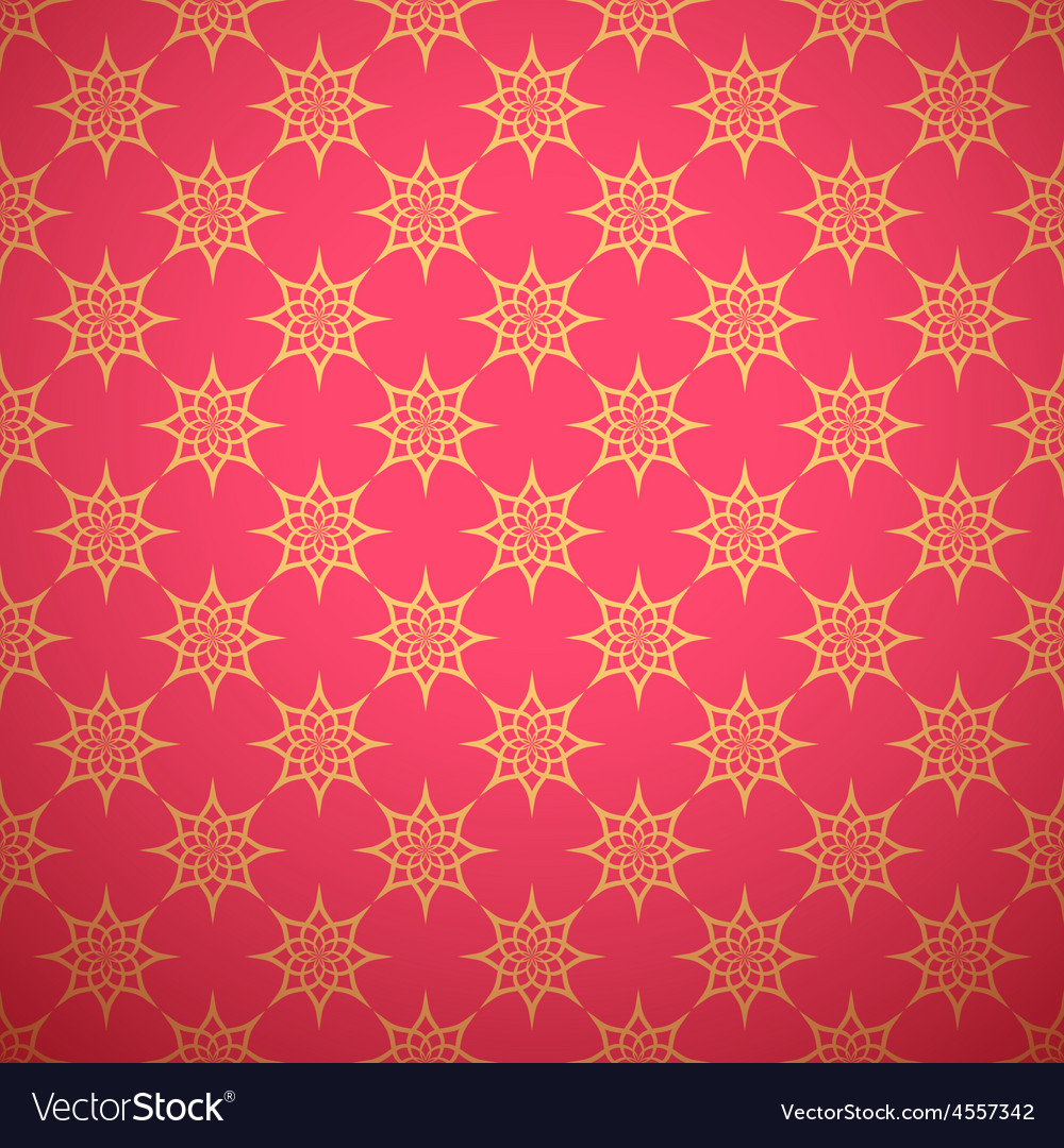 Eastern seamless pattern for