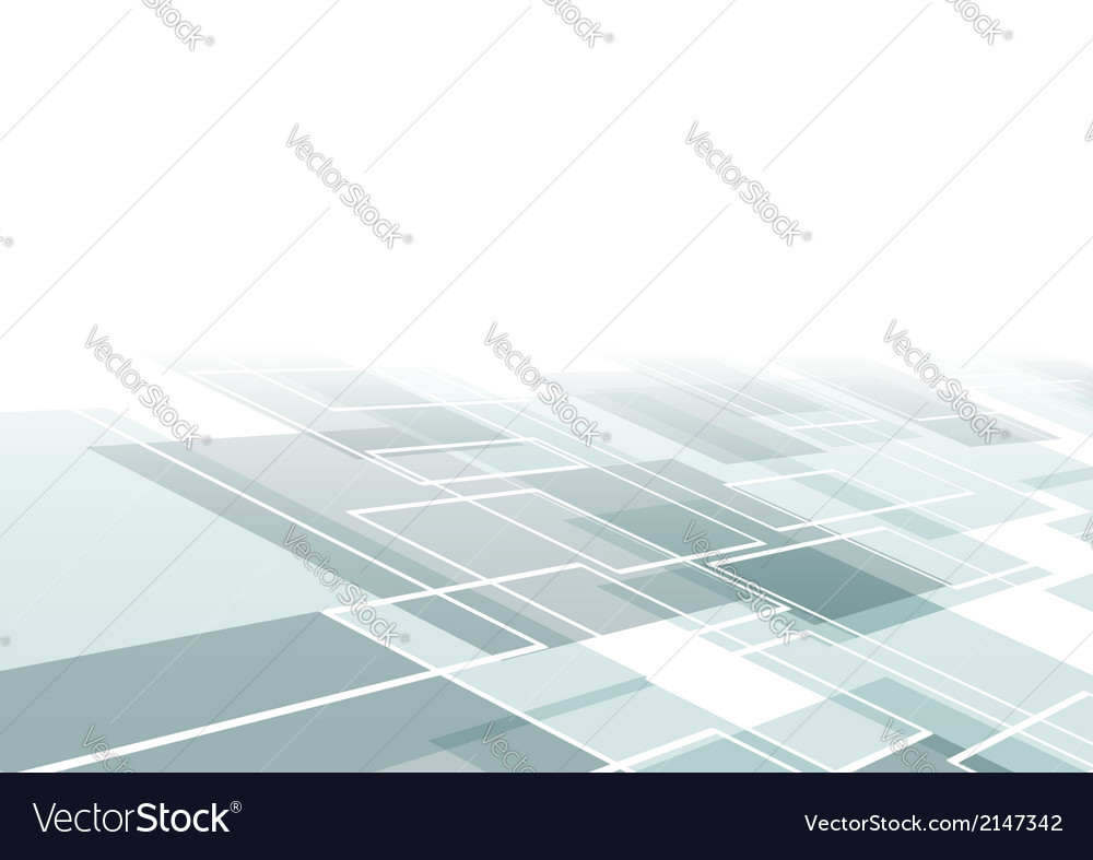 Modern flying tile background template Royalty Free Vector