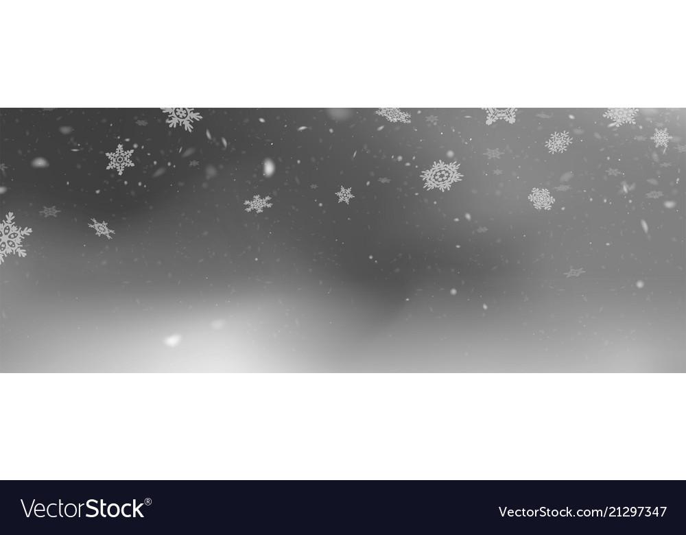 Stock falling snow snowflakes