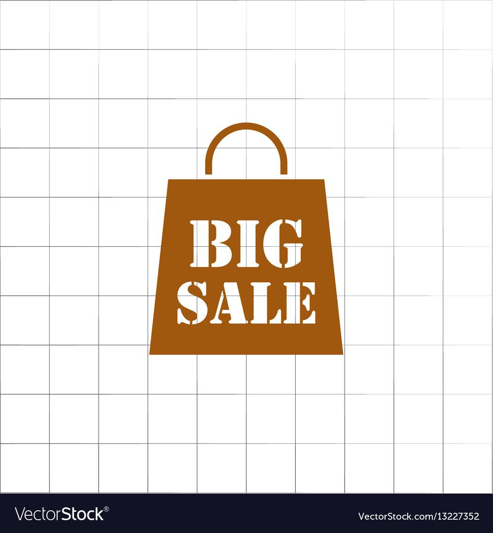 Big sale bag icon
