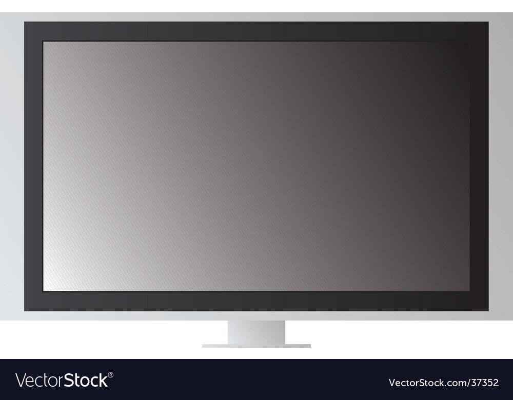 Tv screen vector image