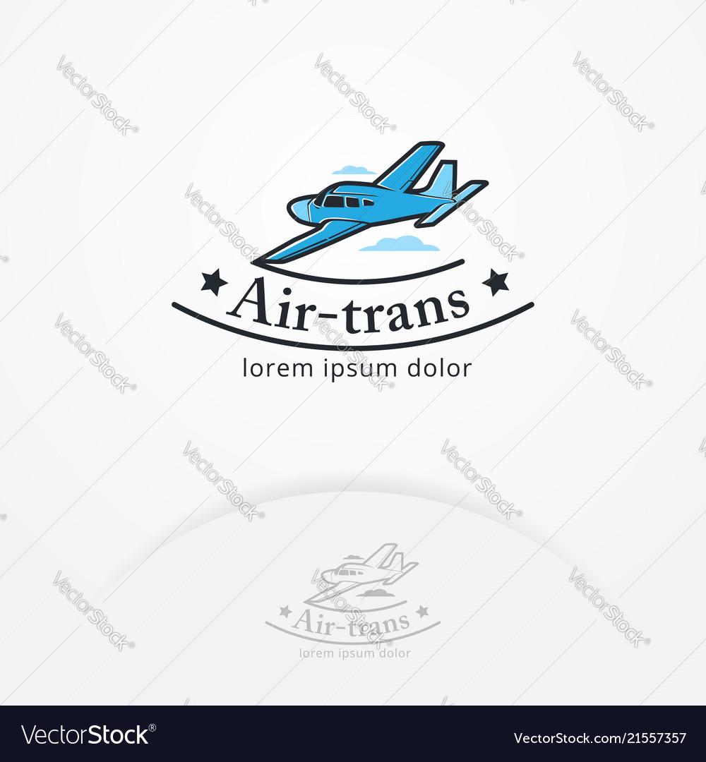 Airplane emblem