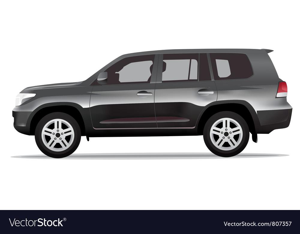 Sport utility vehicle car vector image