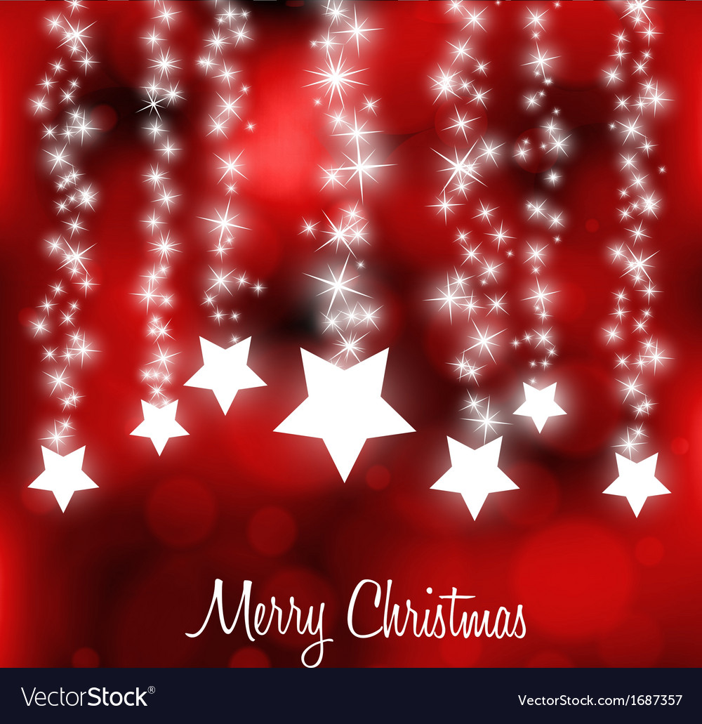 Stylized Colorful Christmas Card
