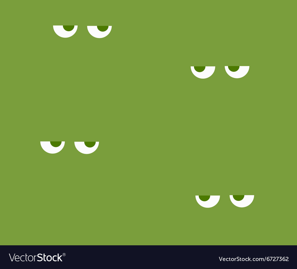 Background with eyes to spy vector image