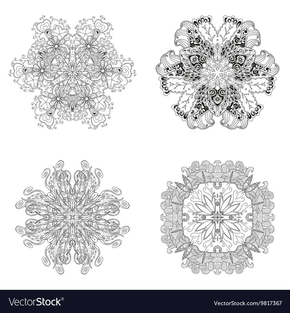 Lace pattern set