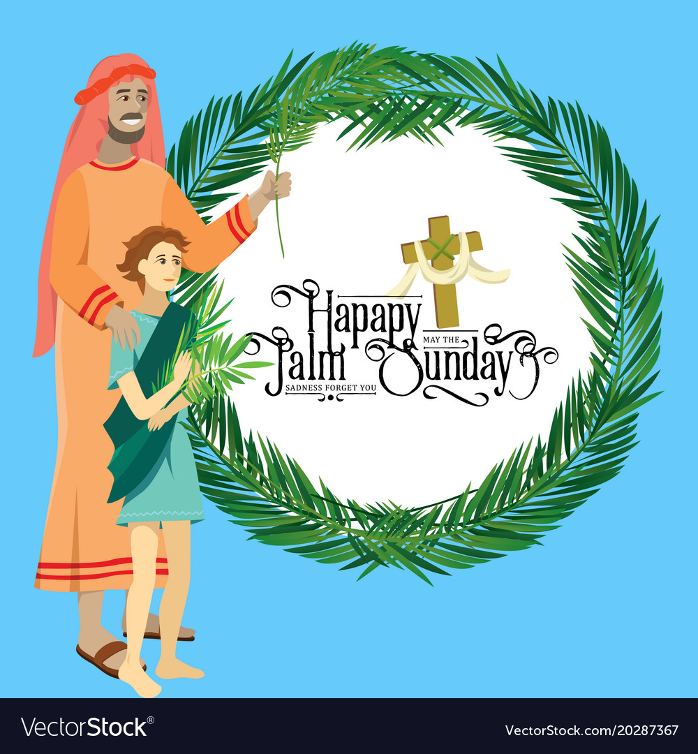 Religion holiday palm sunday before easter