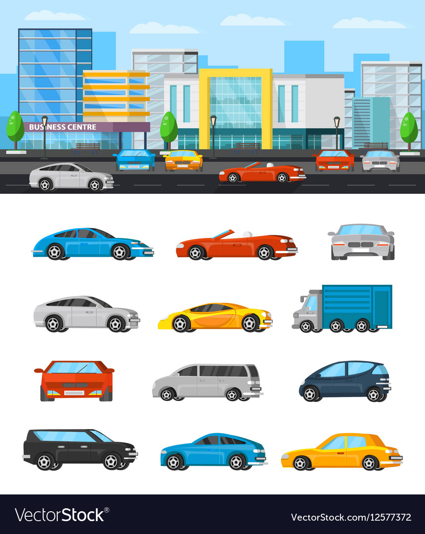Modern Vehicles Composition