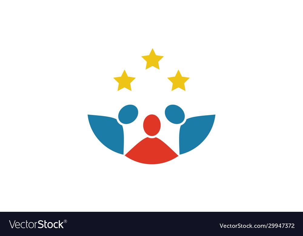 People succes logo
