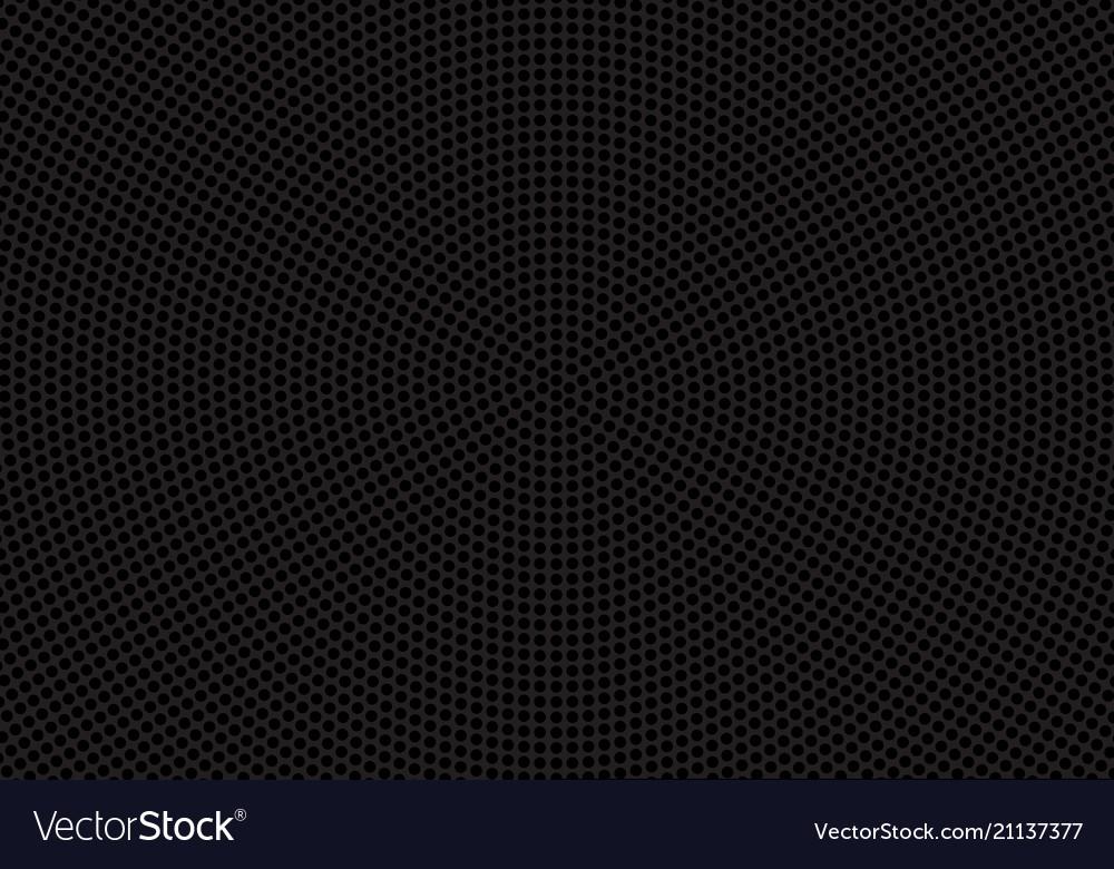 Abstract black circle mesh speaker pattern