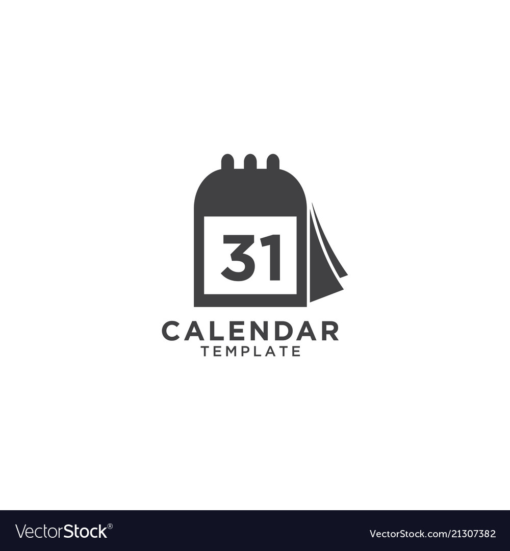 Calendar graphic design template