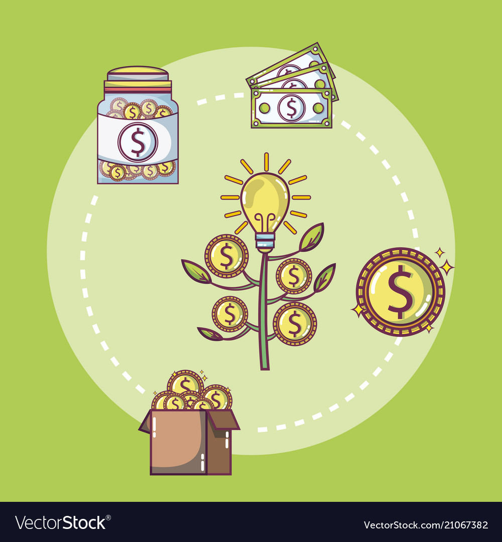 Money investment and savings