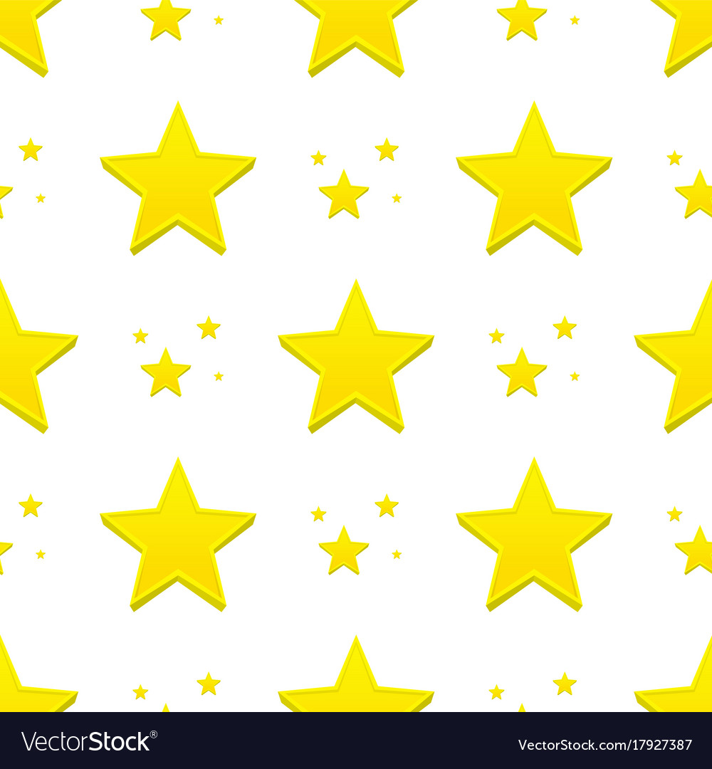 Different style shape silhouette shiny star
