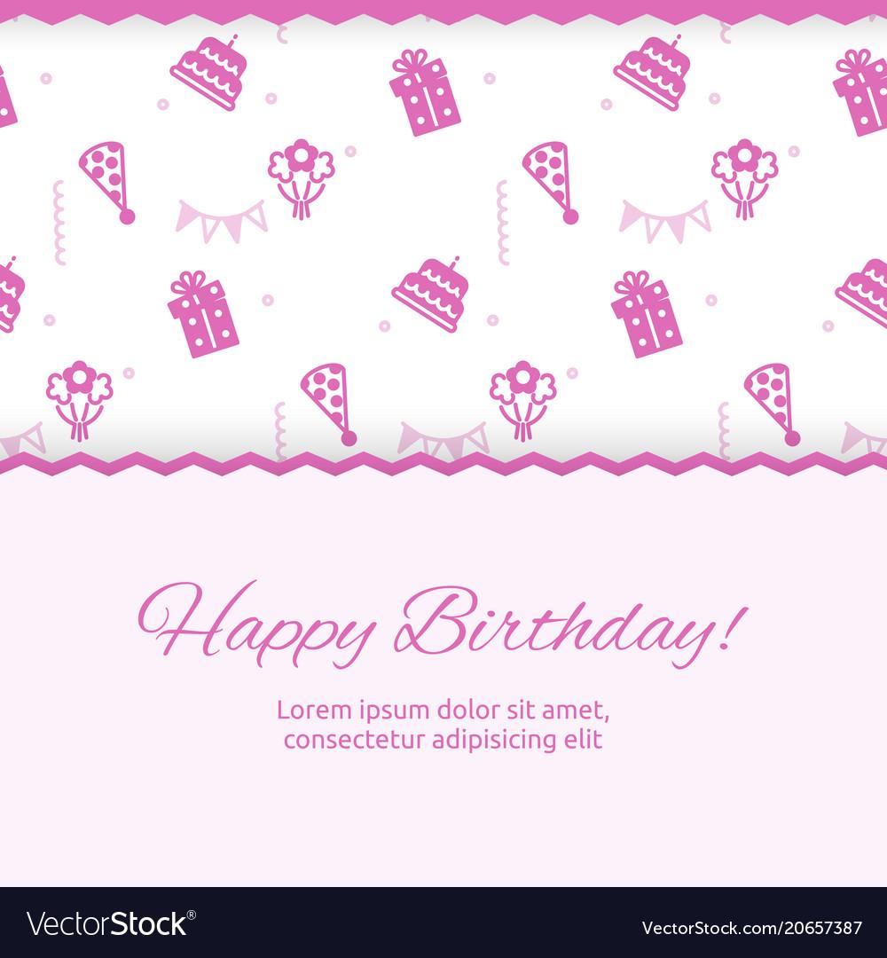 Happy birthday poster design birthday party