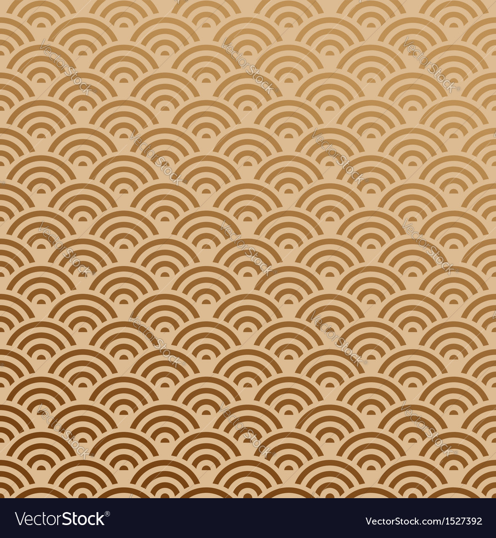 Orient Pattern Seamless vector image