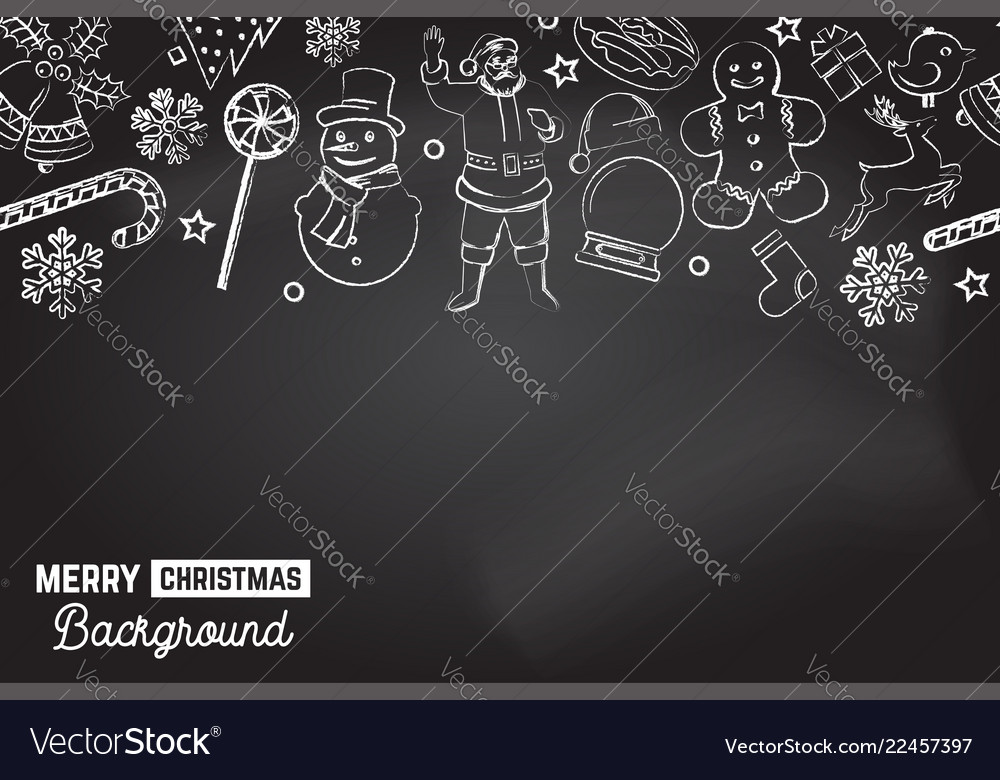 Seamless pattern with xmas icons merry christmas