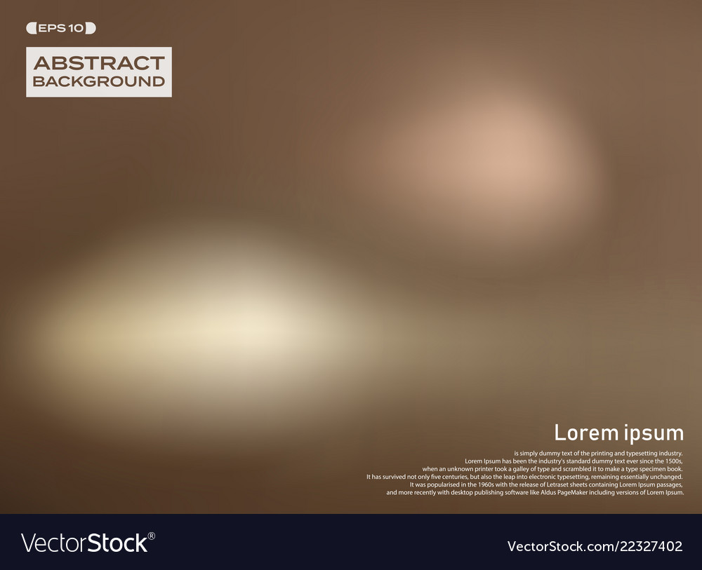 Abstract of blur brown colorful background
