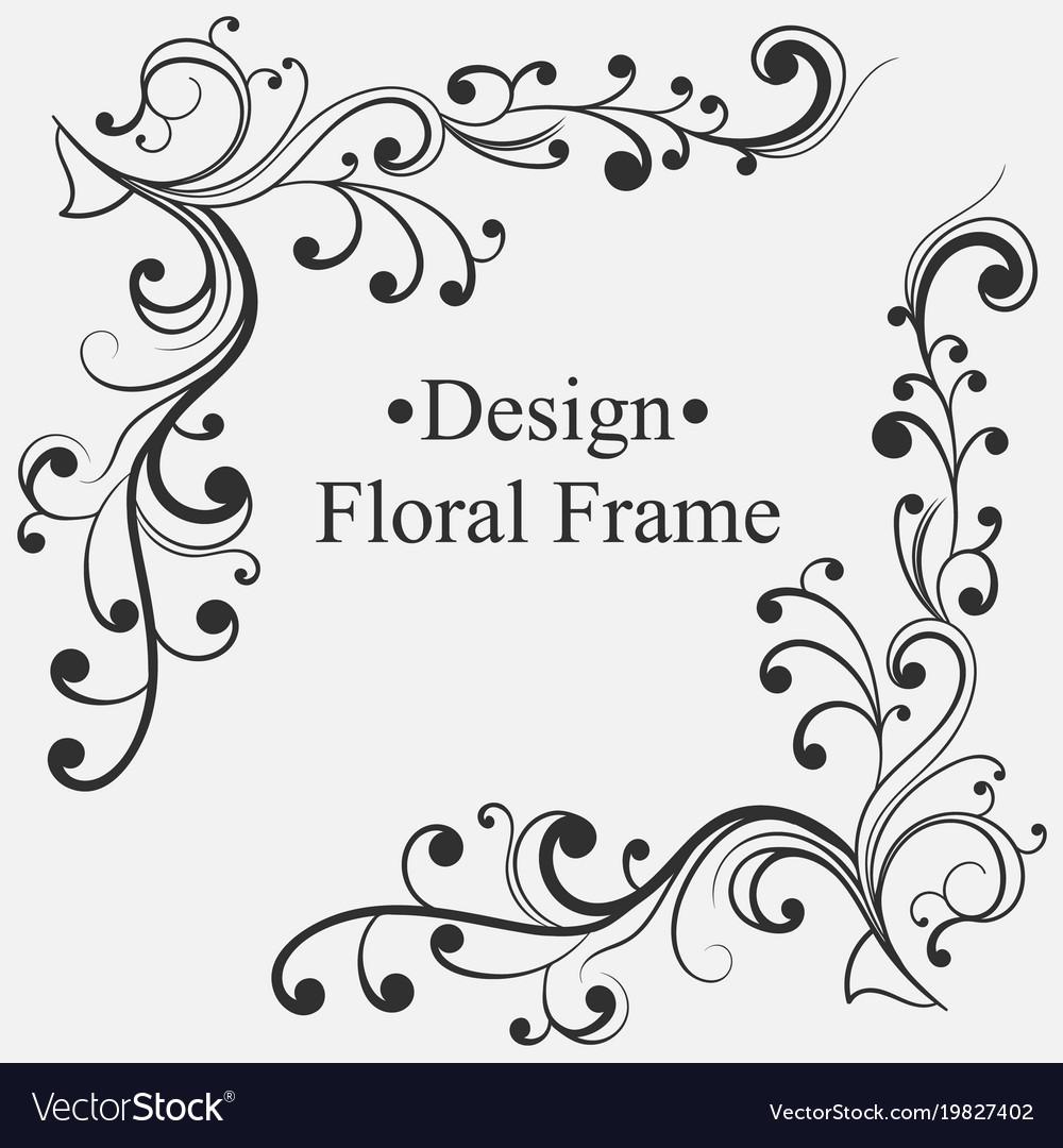 Luxury ornamental frames Royalty Free Vector Image
