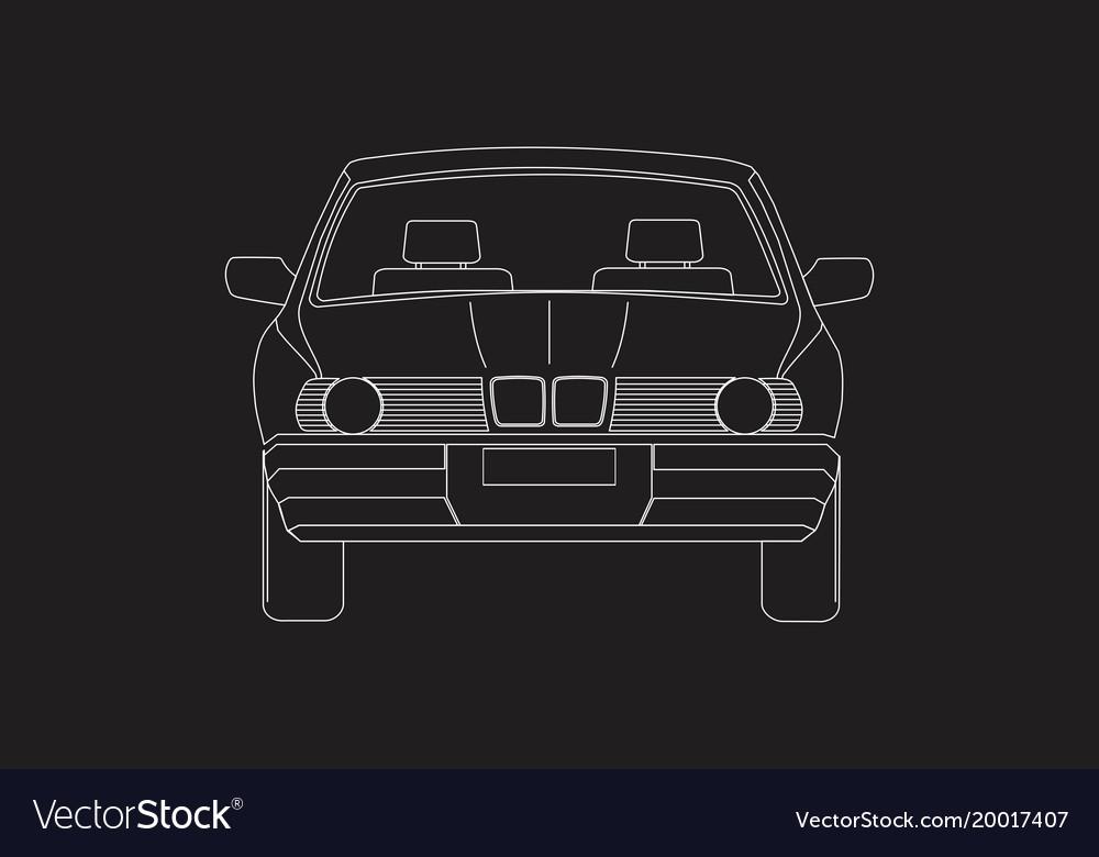 A car front