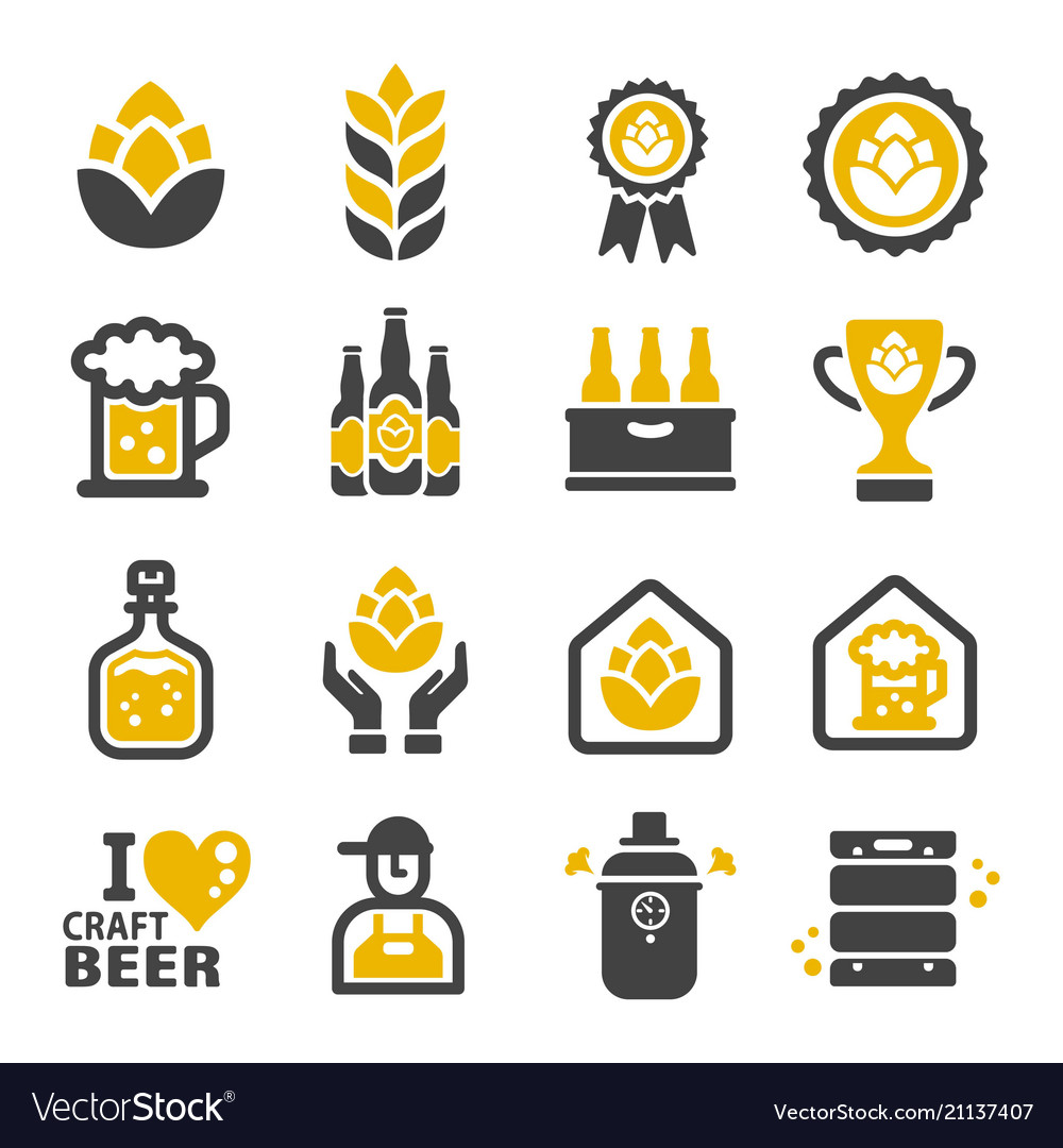 Craft beer icon