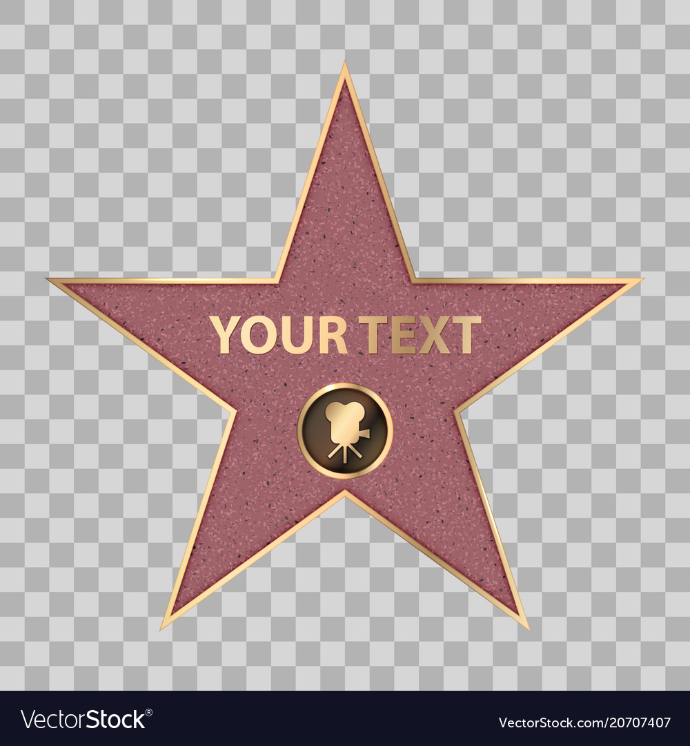 Current image throughout hollywood star template printable