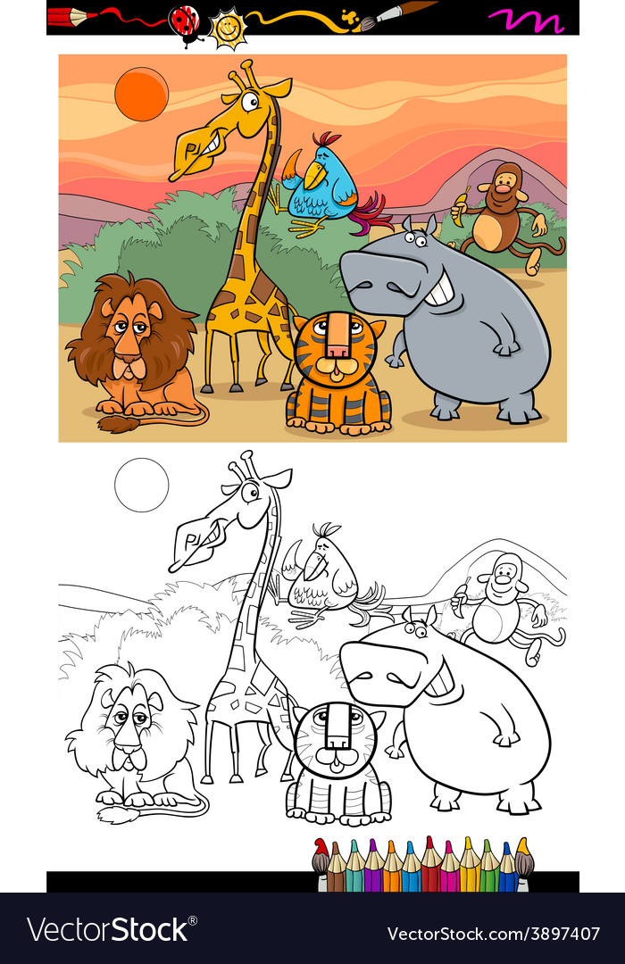 730 Free Coloring Pages Safari Animals Images & Pictures In HD
