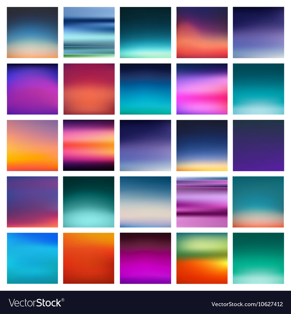 Abstract colorful smooth blurred