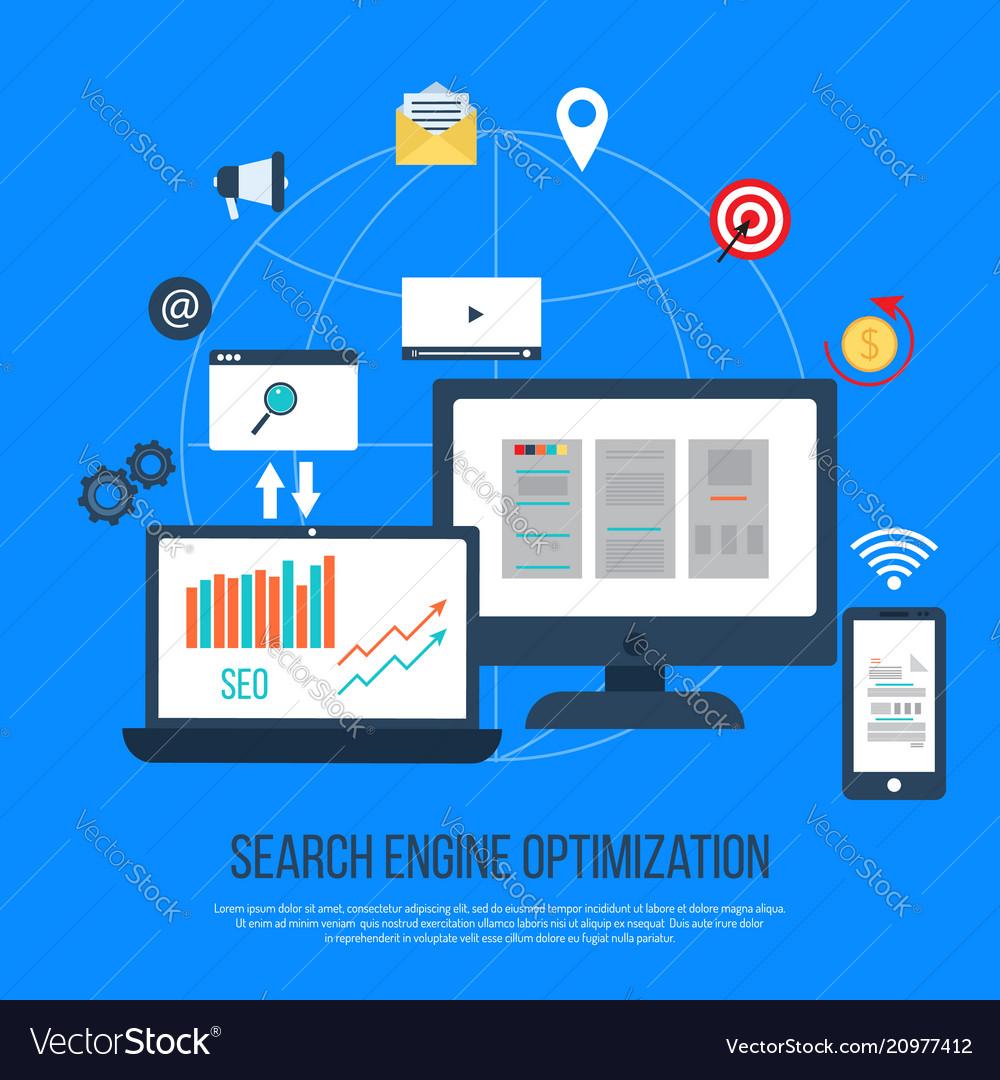 Seo concept search engine optimization