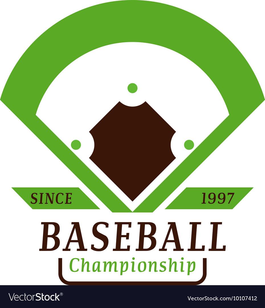 Sport team badge logo