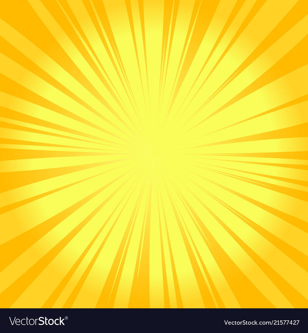 Summer sunburst background glowing radiant