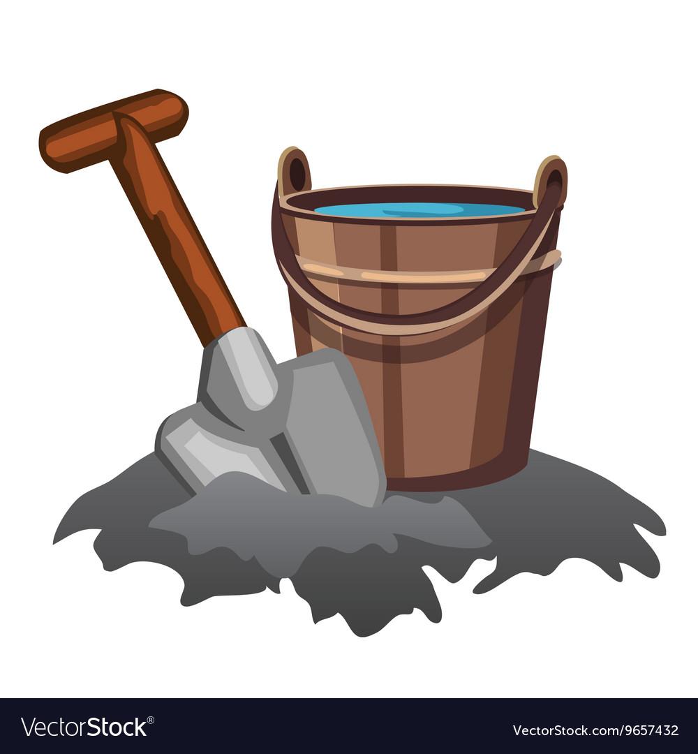 Картинки ведра и лопаты