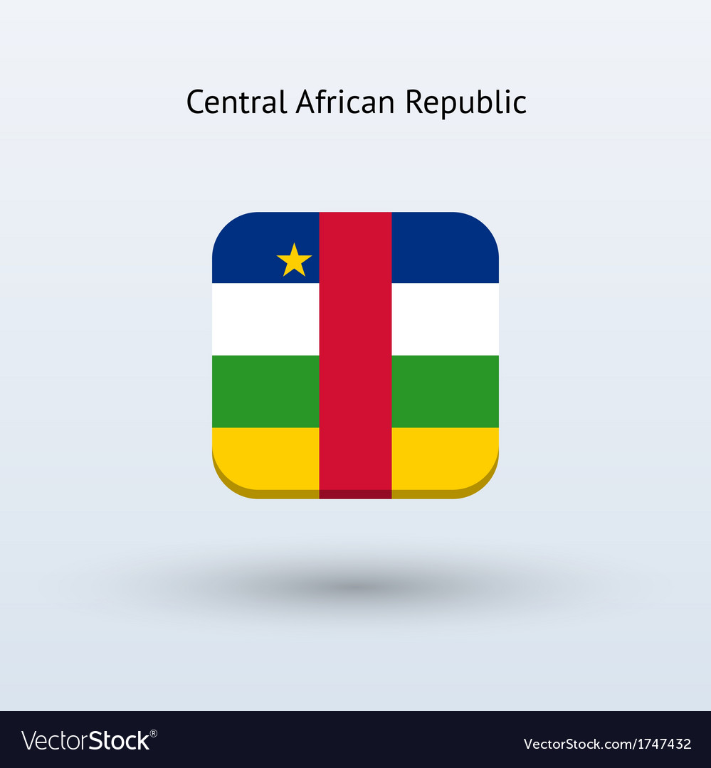 Central African Republic flag icon