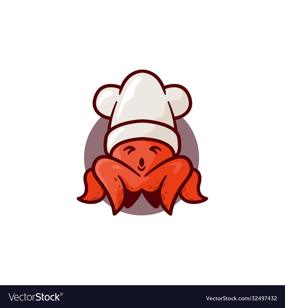 cute squid royalty free vector image vectorstock vectorstock