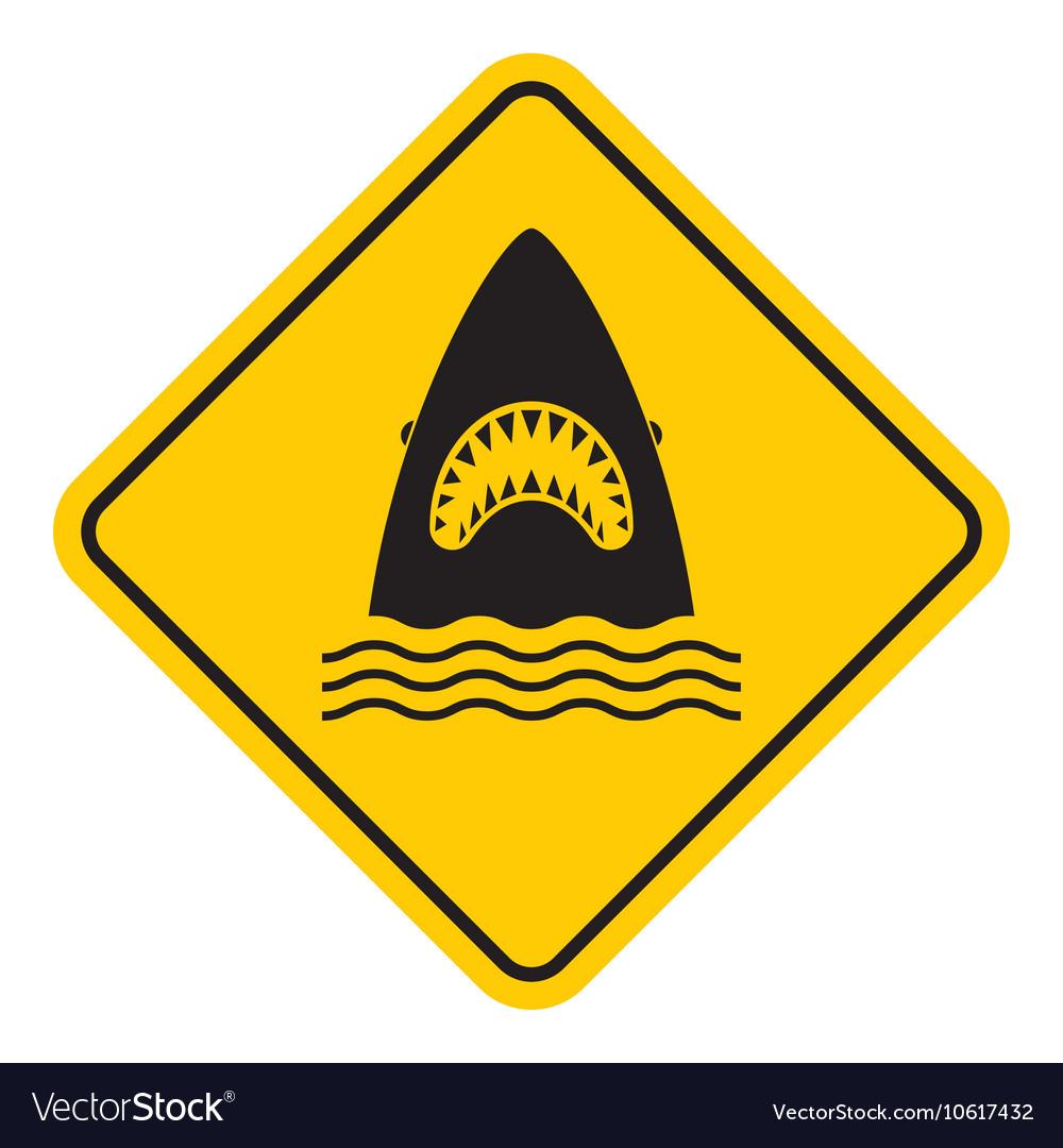 Shark attack warning