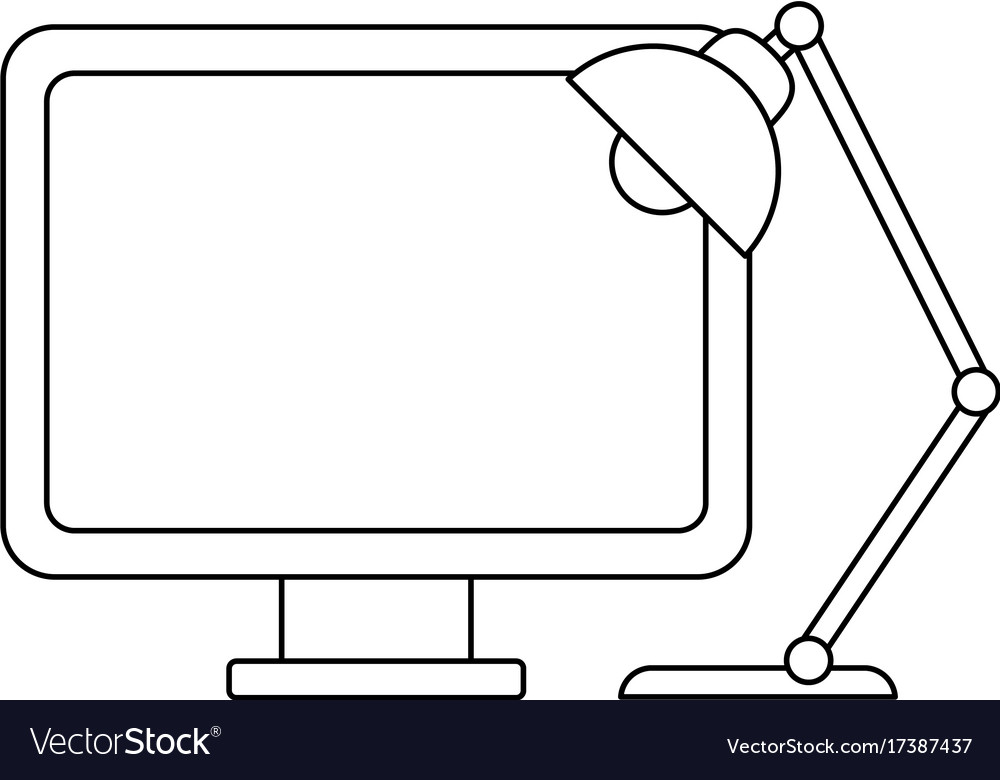 Computer icon image vector image