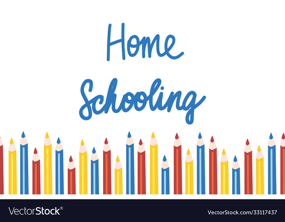 Home schooling template in