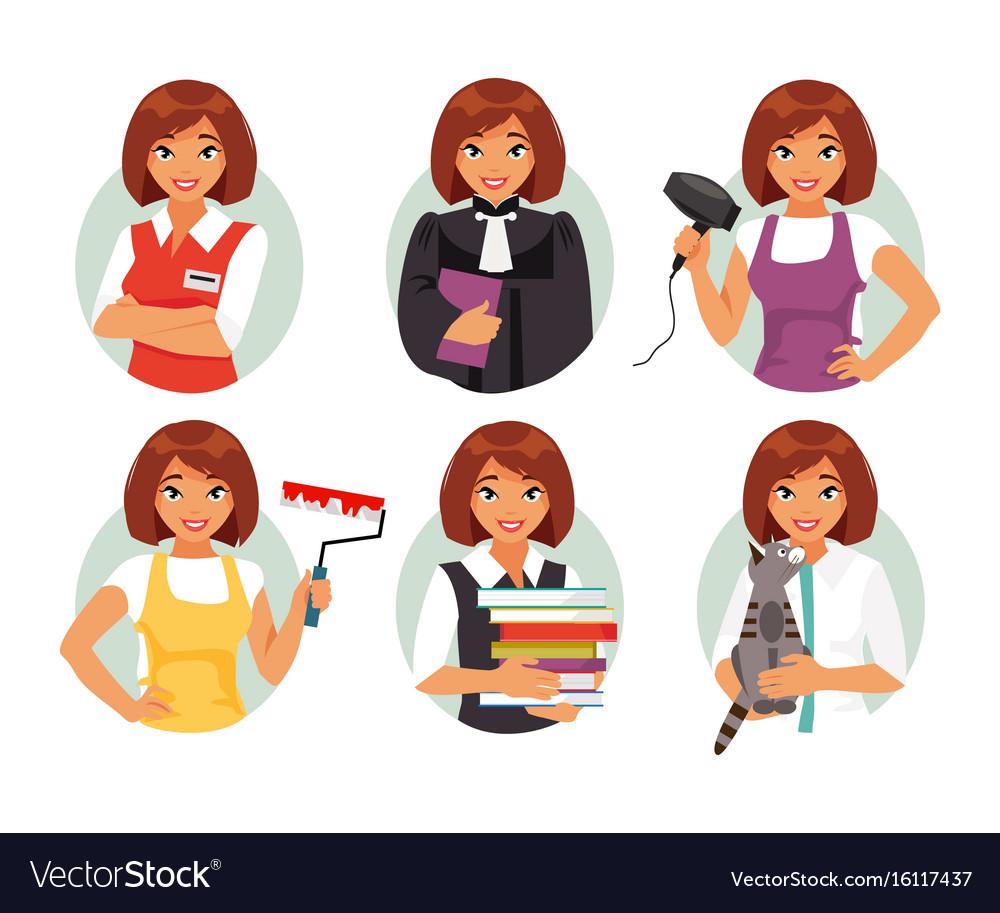 Women professions