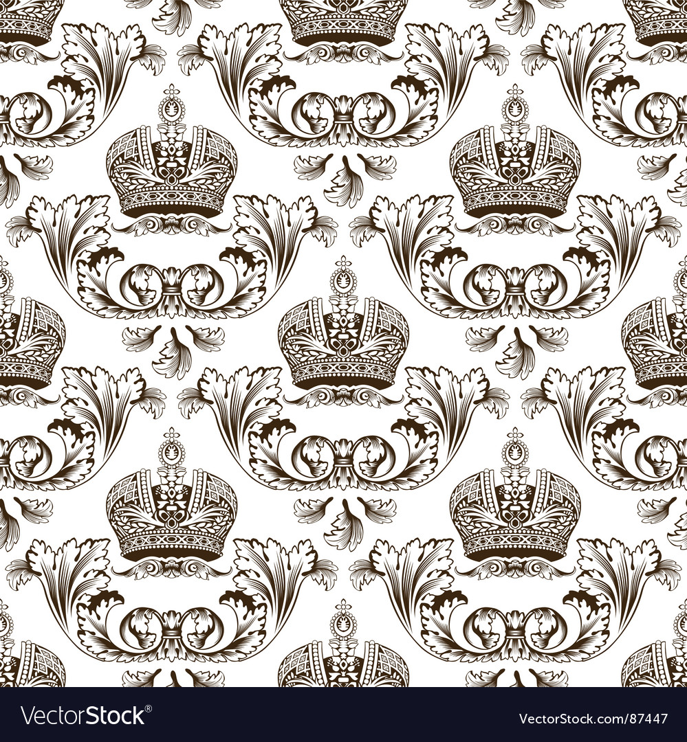 Imperial crown design vector image