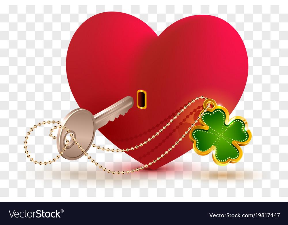 Heart Shaped Locks With Keys