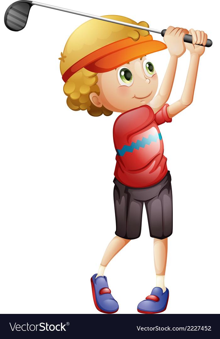 Image result for boy golfing