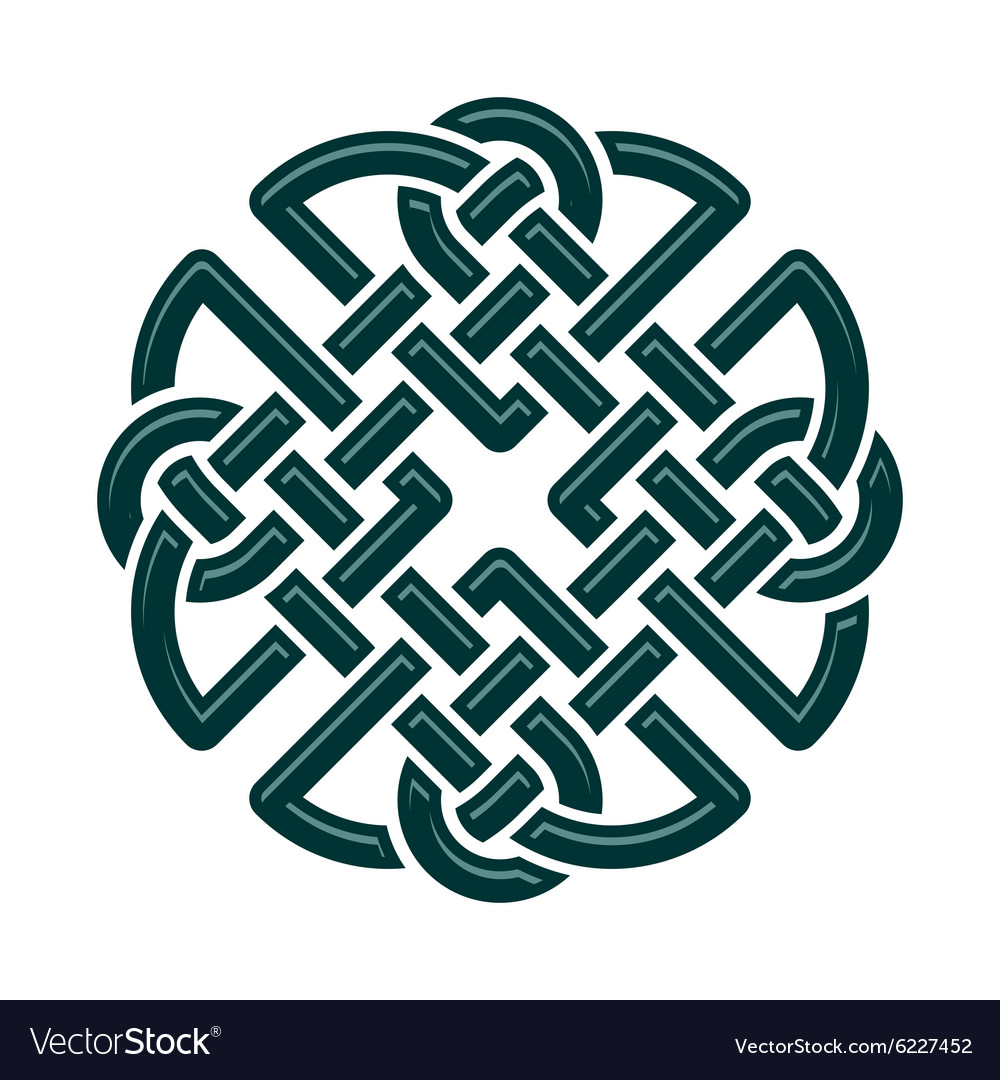 Celtic Knot Royalty Free Vector Image Vectorstock
