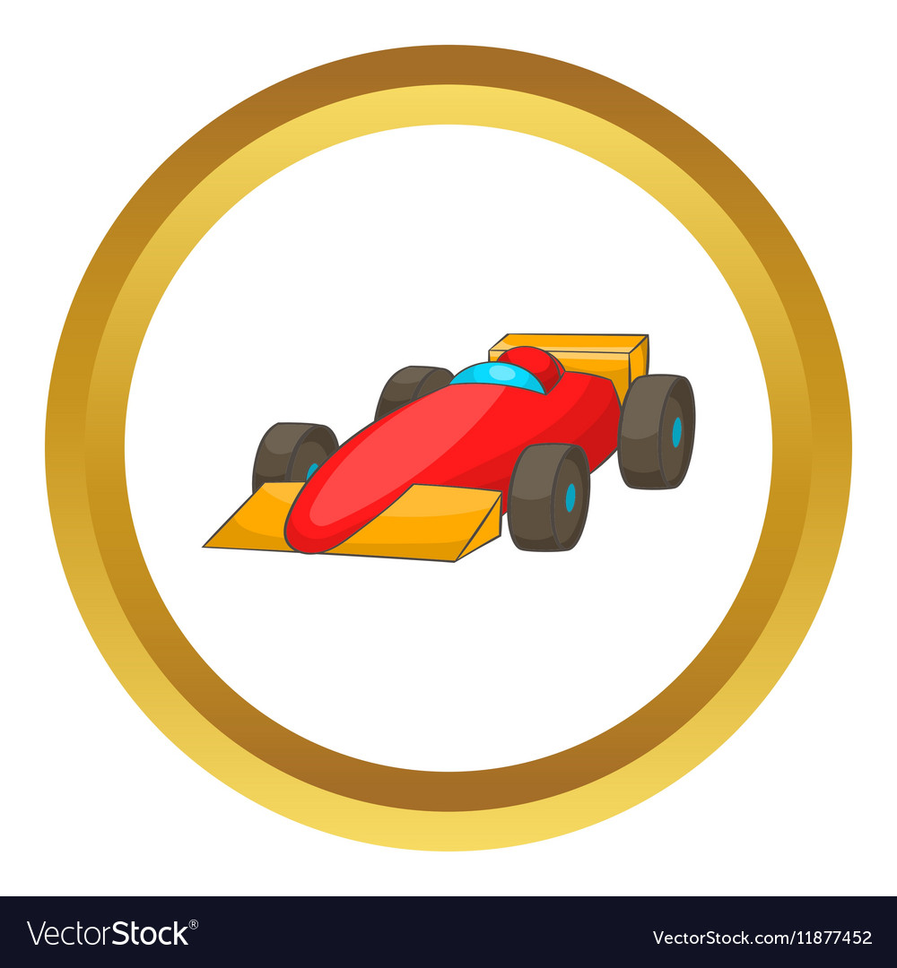 Race car icon vector image