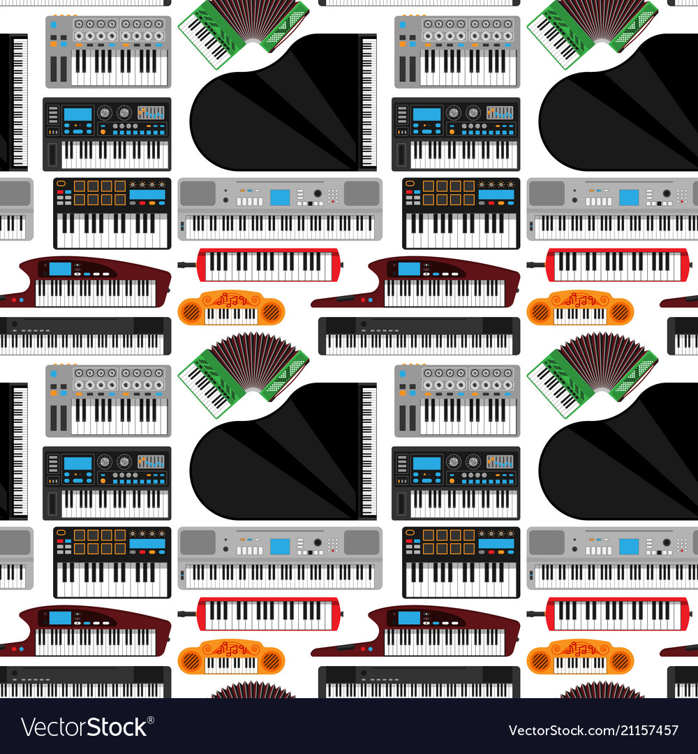 Keyboard musical instruments classical
