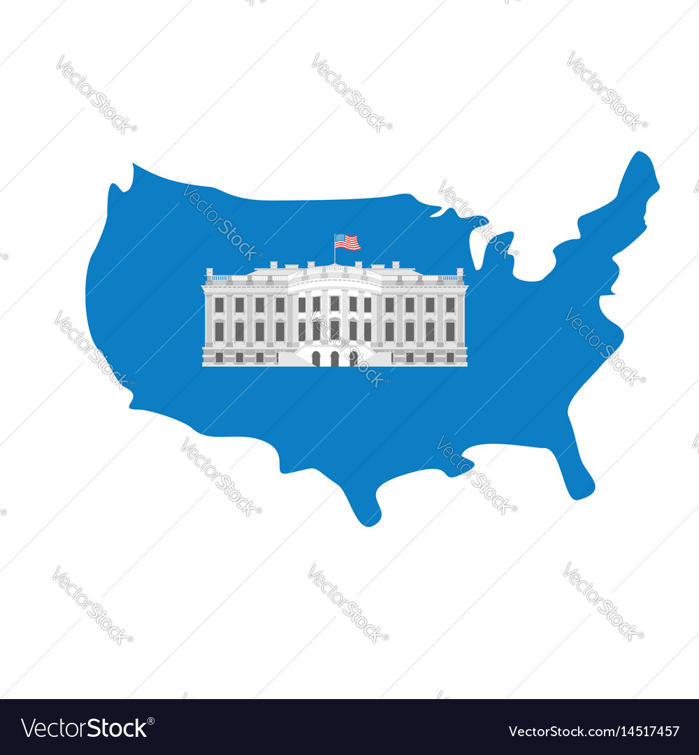 White house on map of america residence of on new york map america, hawaii map america, st. louis map america, indiana map america, idaho map america, kansas map america, north carolina map america, ohio map america,