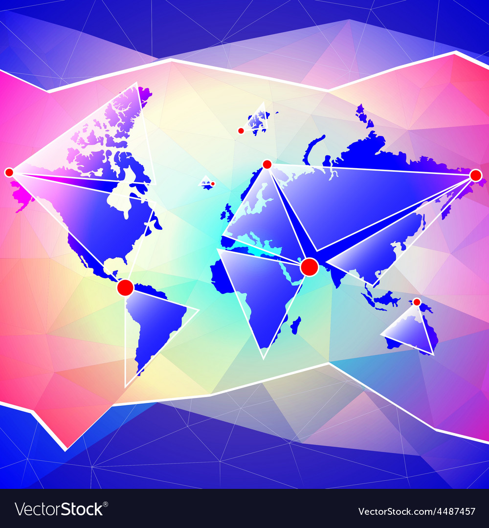 World map abstract background royalty free vector image world map abstract background vector image gumiabroncs Choice Image